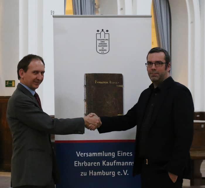 Ehrbarer Kaufmann Live Entertainment Experte Stefan Lohmann Handelskammer Hamburg