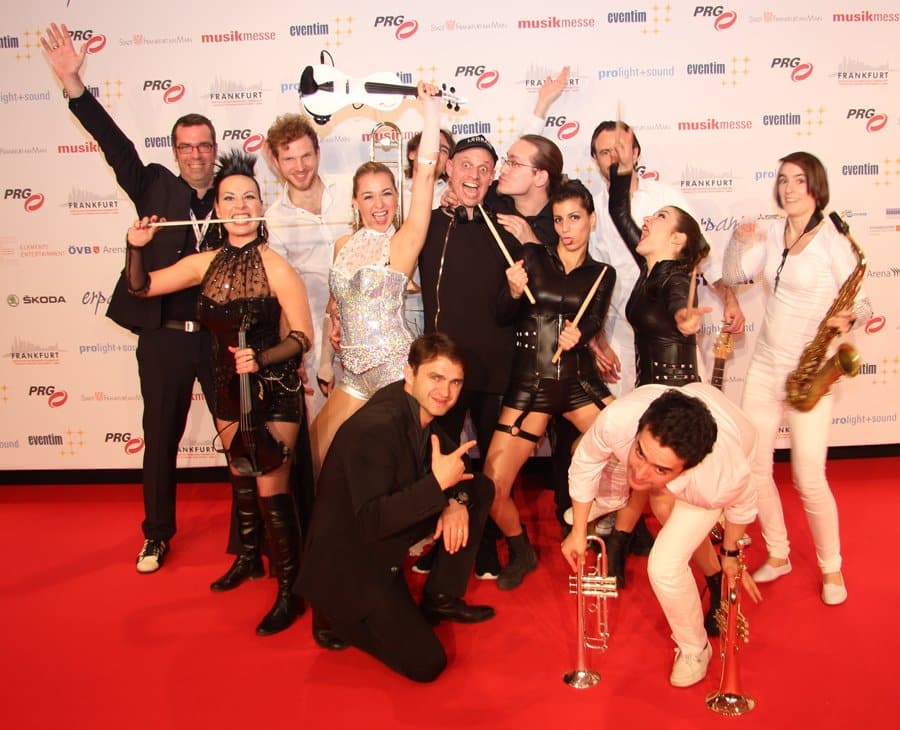 Berlin Show Orchestra beim LEA 2016 Foto Musikwoche