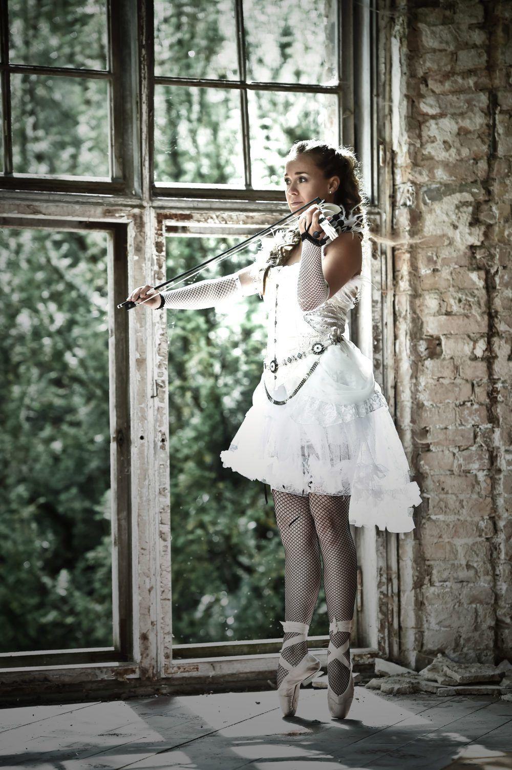 Berliner Violinistin Nora Kudrjawizki