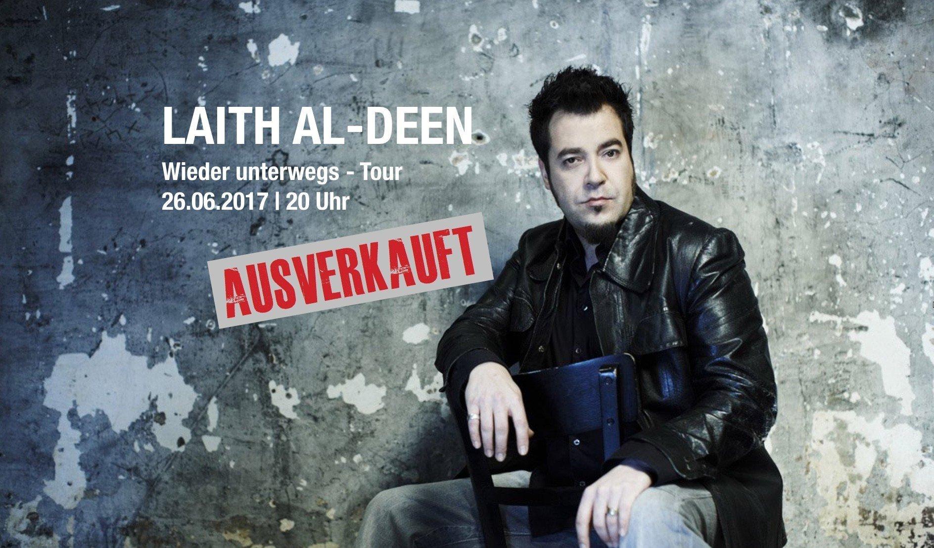 Laith Al Deen ausverkauft